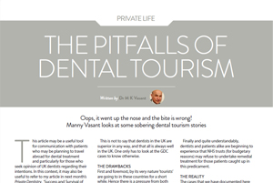 Pitfalls of Dental Tourism